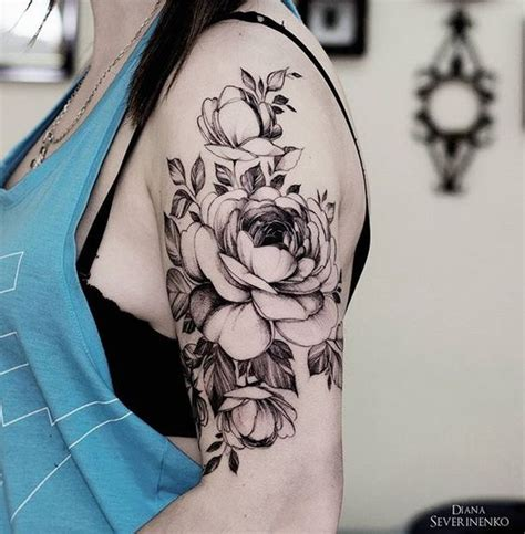 tattoo flower arm 32 cutest flower tattoo designs for girls that inspire