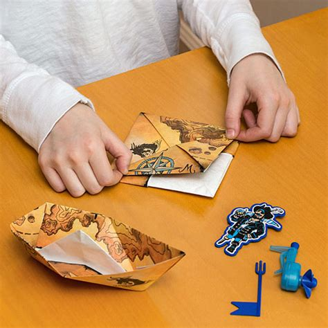 how to make a paper boat slowly powerup boat motorized paper boat kit