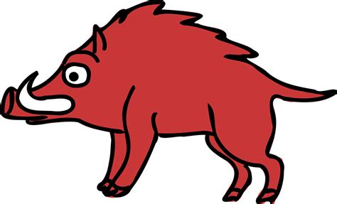 imagenes de animales jabali vector gratis animales jabal 237 dibujos animados imagen