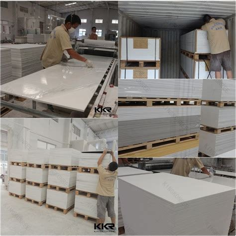 Corian Sheet Manufacturers China Wholesale Corian Glacier White Acrylic Solid Surface