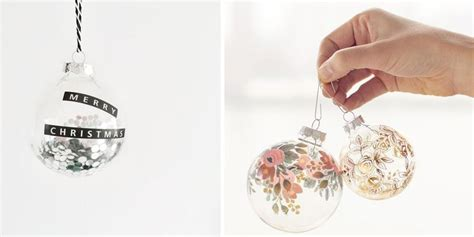 Comment Decorer Des Boules De Noel Transparentes by 7 Id 233 Es Pour Customiser Une Boule De No 235 L Transparente