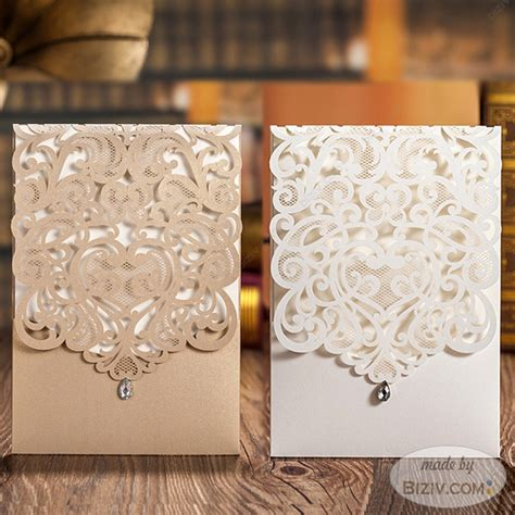 Wedding Card Gold by Gold Wedding Invitations Biziv Promotional Products