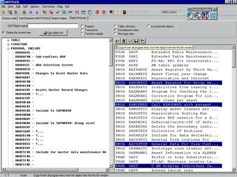 que es un layout sap editor de abap externo sapedit para sap mundosap
