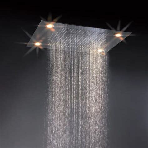 Concealed Electric Shower China 4 Function Electric Rainfall And Waterfall Concealed