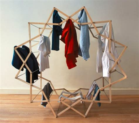 Clothes Dryer Shelf by Fresh Spin Rounded Space Saving Clothes Drying Rack Urbanist
