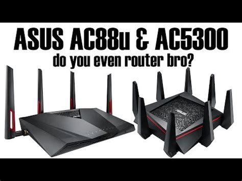 Asus Ac5300 And Ac88u asus tri band wireless router rtac3200 features funnydog tv