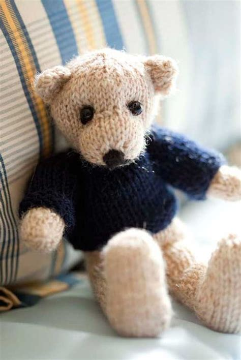 knitting pattern teddy bear 107 best knitted teddy bears images on pinterest