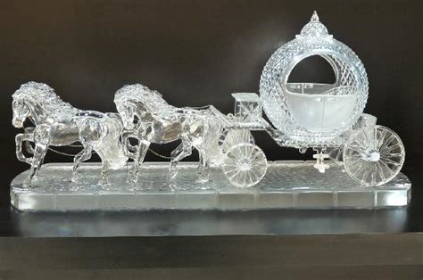 cinderella s carriage picture of waterford crystal