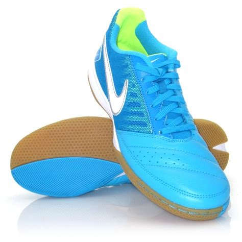 indoor sports shoes nike gato ii mens indoor soccer shoes blue