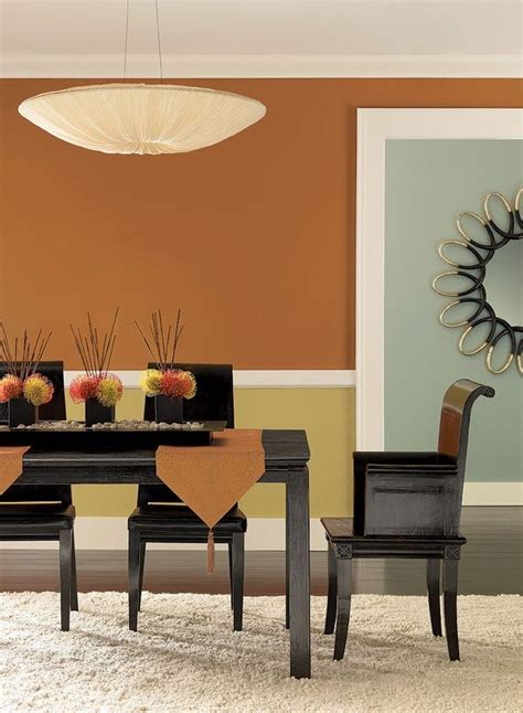 orange dining rooms 1000 images about dining room on pinterest orange walls
