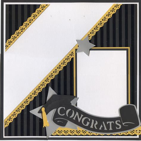 layout design for graduation page one of a graduation layout scrapbooking pinterest