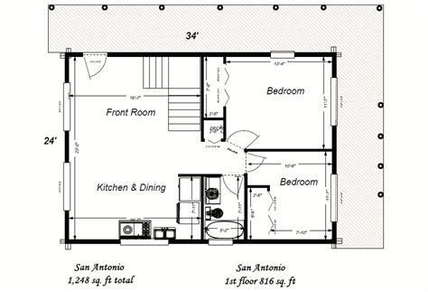 large cabin floor plans big sky log cabin floor plan