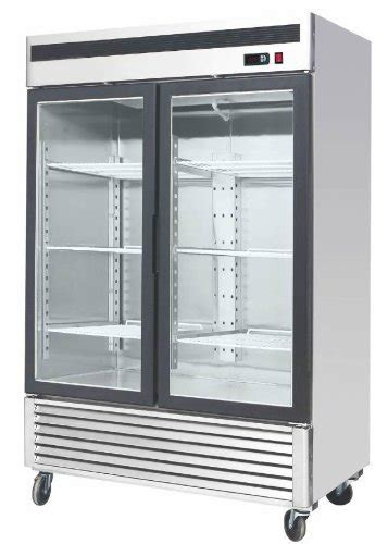 Upright Glass Door Freezer Display Asia 45 54 5 quot 2 door door upright stainless steel glass window reach in freezer merchandiser