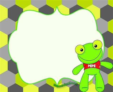 tarjetas del sapo pepe marcos de sapo pepe sapa pepa y amigos marcos infantiles