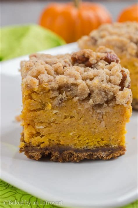 pumpkin bars with crumb topping pumpkin crumble bars tasty kitchen a happy recipe