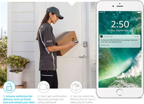 amazon home amazon key lets delivery people into your home when you re
