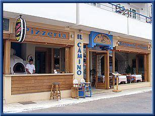 il camino restaurant crete web il camino restaurant pizzeria hersonissos
