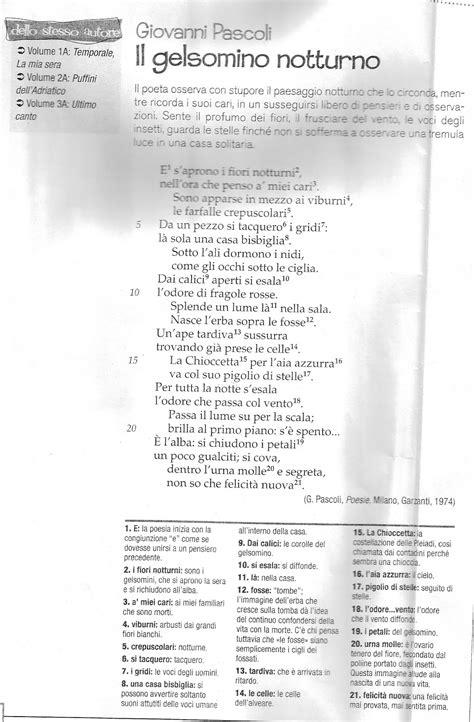 temporale pascoli testo il della prof poesia pascoli classi terze