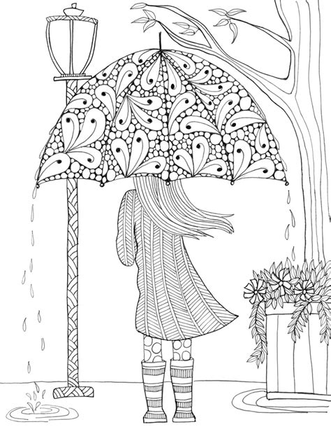 Coloring Pages International Tree Coloring Page