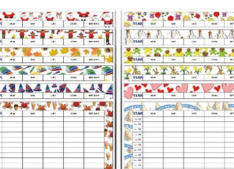 Calendar Themes Monthly Theme Organiser Calendar A3 Standard Edition