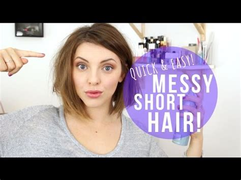 how to wear your hair smell like the long island medium how to messy short hair est 233 e lalonde youtube