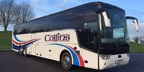 home based buss for a forty five year old woman home collins coaches coach hire and carrickmacross to