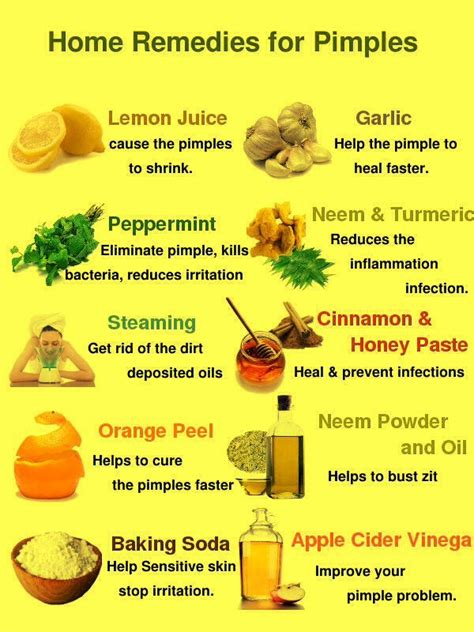 12 Best Home Remedies For Pimples by Home Remedy For Pimples Vitamins For Acne My