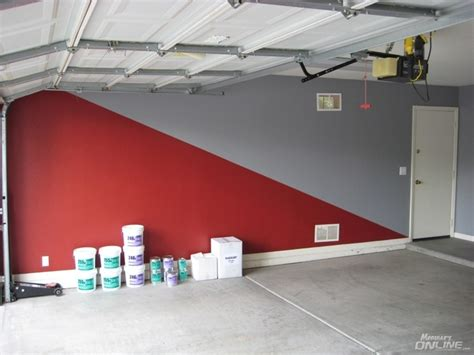 Garage Paint Scheme makeover garage epoxy flooring lots of pics