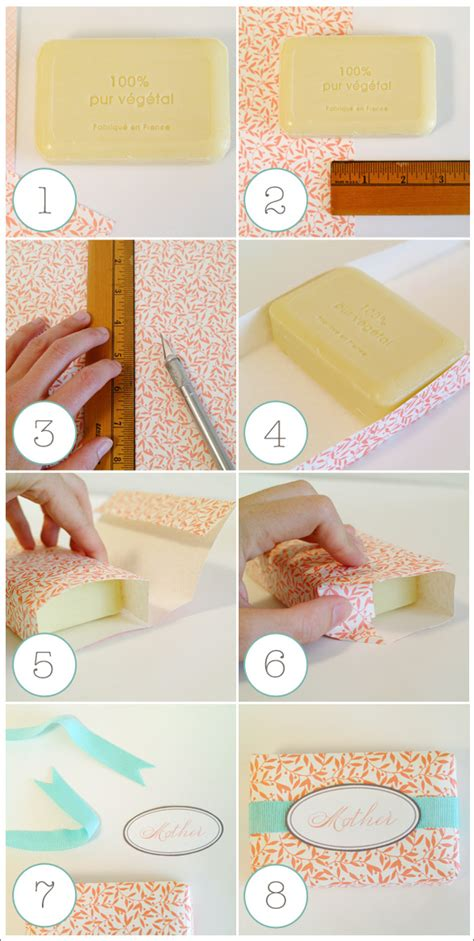 How To Wrap Handmade Soap - d i y paper wrapped soaps home creature comforts