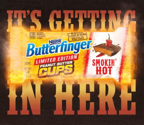 butterfinger smokin hot instantwin sweepstakes 171 dustinnikki mommy of three - Butterfinger Sweepstakes 2017