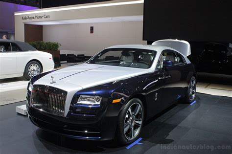 roll royce india new york live rolls royce wraith revealed