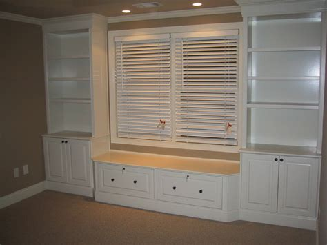 custom built wall units