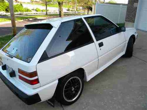 mitsubishi mirage turbo purchase used 1988 mitsubishi mirage turbo colt turbo in
