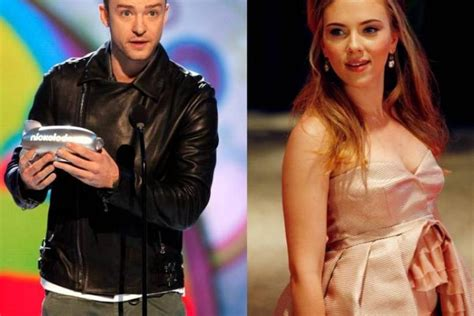 Johansson And Justin Timberlake Are Totally Doing It by Justin Set Aside Photo Worries