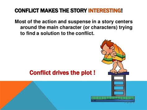 selves in a sentence identifying literary conflict