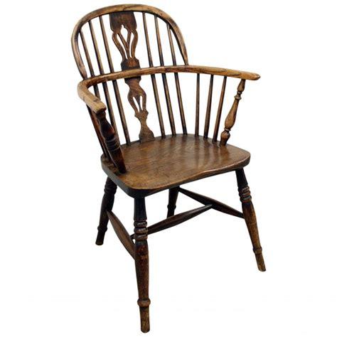 Winsor Chair by Elm Chair Georgian Antiques
