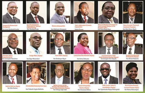 South Cabinet Ministers And Their Portfolios by Cabinet Reshuffled The Herald