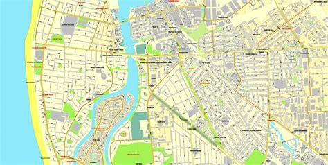 printable map adelaide suburbs adelaide australia printable vector street city plan map