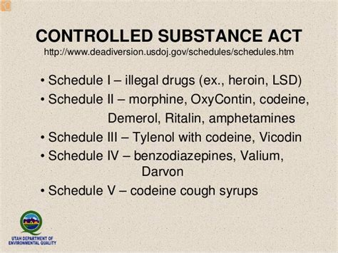 section 102 of the controlled substances act environmental impact of pharmaceuticals