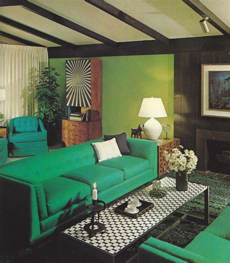 1970s home decor vintage home decorating 1970s rooms green rooms pinterest