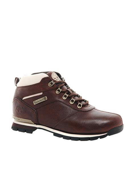 timberland hiking boots for aldo timberland splitrock 2 hiking boots in brown for
