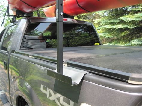 truck bed kayak rack back rack with tonneau cover 2017 2018 best cars reviews