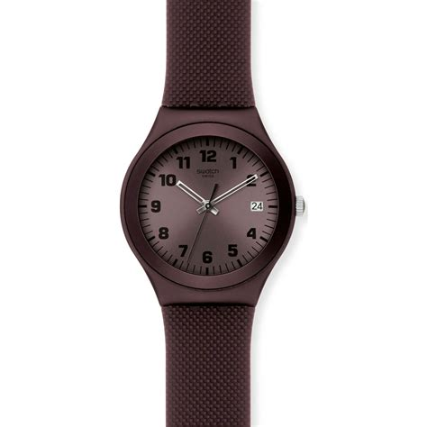 swatch ygc4001 brown effect