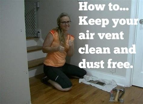 air vents clean  renovation