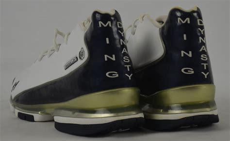 model shoes lot detail yao ming houston rockets professional model