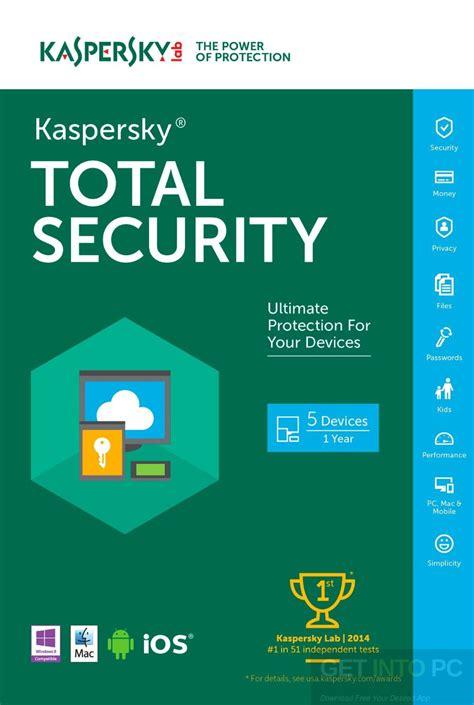 Kapersky Security kaspersky total security 2017 free