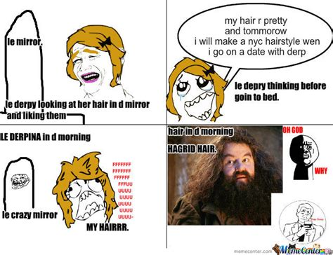 Hagrid Meme - hagrid hair by gustaliciouslyme meme center