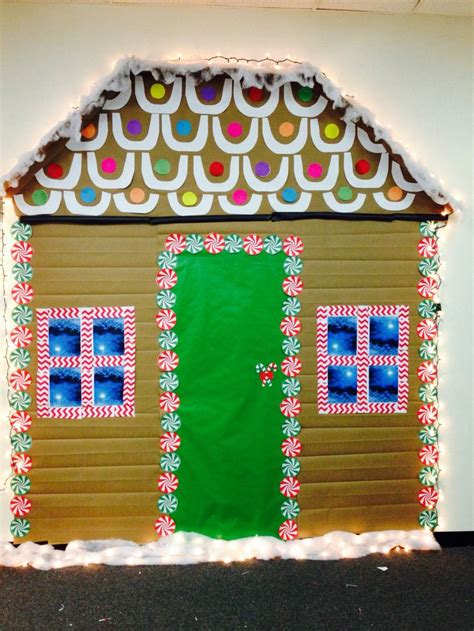 life size gingerbread house decorations life size gingerbread house for the office gingerbread house christmas office