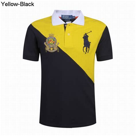 Sepatu Prewalker Polo Black Yellow polo ralph rl country riders jockey club shirts yellow black cheap ralph