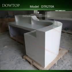 L Shaped Desk Modern Modern Design White L Shape Wood Reception Counter And